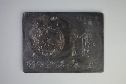 Pioneer - Benoît Billotte / Plaque de plomb moulée - 23x17 cm - 12 exemplaires - 200 €
