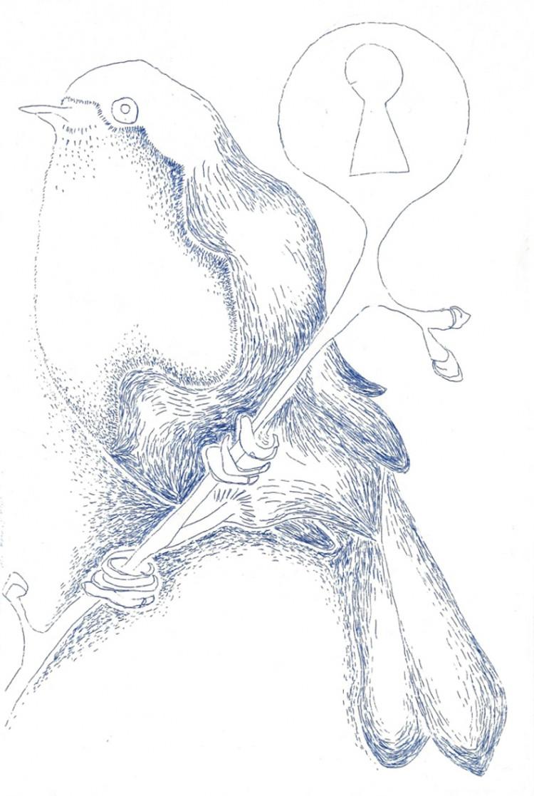 PIT TIOU - Thomas Lanfranchi / eau forte sur papier - 20x15 cm - 12 exemplaires - 90 €