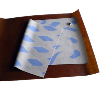 Fait avec molesse - Philippe Garenc / élastomère polychrome - 31,5x54 cm - 12 exemplaires - 100 €