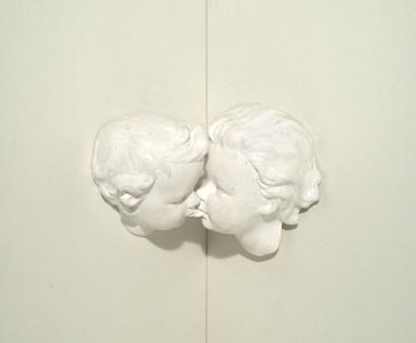 Oeuvre en coin - Olivier Weber / Acrylique sur résine époxy - 13,5x10x8 cm - 12 exemplaires - 200 €