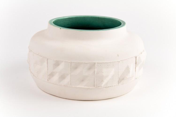 Tombola - Mendel Heit / vase en faïence émaillée - diam. 18 cm et haut. variable - 16 exemplaires - de 100 à 350€