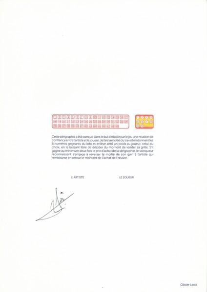 Le coût des autres - Olivier Leroi / sérigraphie sur papier Munken et gaufrage encadré - 21x29,7cm - tirage illimité - 120€ ( Le numéro de l'artiste : 0607460982 )