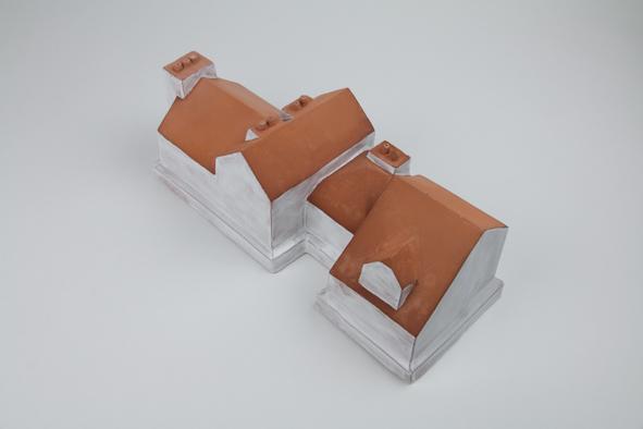 Hors d'œuvre - Estelle Chrétien & Miguel Costa / terrine en céramique émaillée - 29x10x10cm - 6 exemplaires - 450€