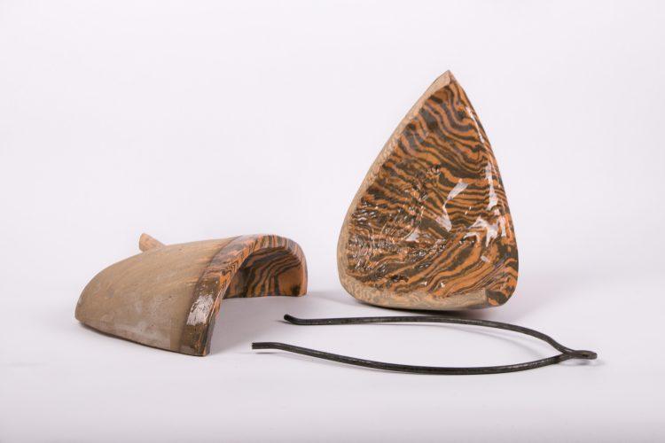 Bari - Célie Falières / Faïences colorées et fer forgé - 35x22x25cm - 12 exemplaires - 300€